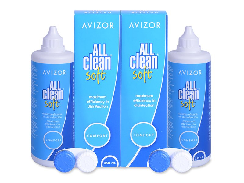 Płyn Avizor All Clean Soft 2 x 350 ml