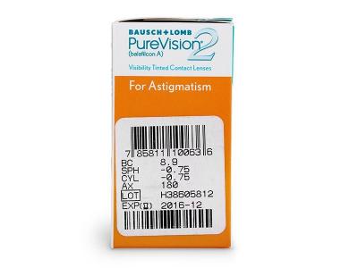 PureVision 2 for Astigmatism (6 soczewek)