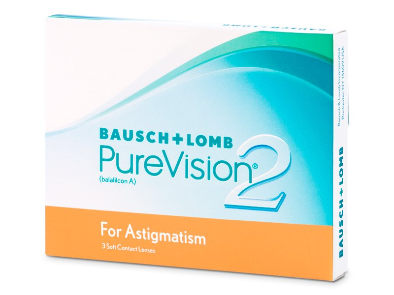 PureVision 2 for Astigmatism (3 soczewki)