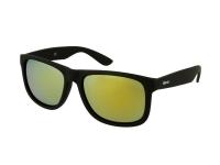 alensa.pl - Soczewki kontaktowe - Okulary przeciwsłoneczne Alensa Sport Black Gold Mirror