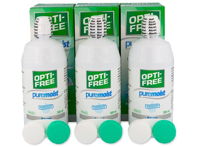Płyn OPTI-FREE PureMoist 3x300ml