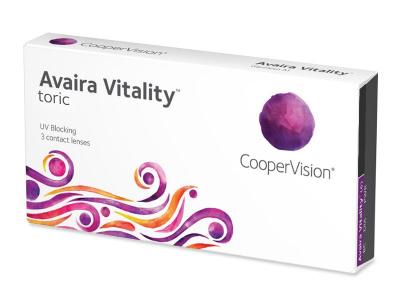 Avaira Vitality Toric (3 soczewki)