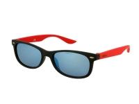 alensa.pl - Soczewki kontaktowe - Dziecięce okulary przeciwsłoneczne Alensa Sport Black Red Mirror