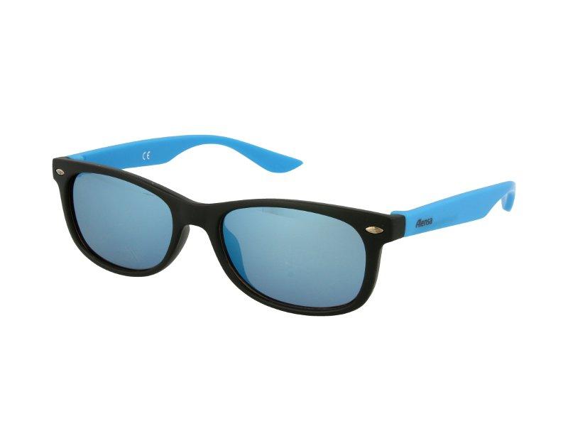 Dziecięce okulary przeciwsłoneczne Alensa Sport Black Blue Mirror