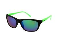 alensa.pl - Soczewki kontaktowe - Okulary przeciwsłoneczne Alensa Sport Black Green Mirror