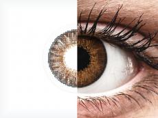 Air Optix Colors - Brown - korekcyjne (2 soczewki)