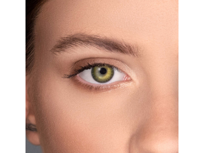 Air Optix Colors - Gemstone Green - zerówki (2 soczewki)