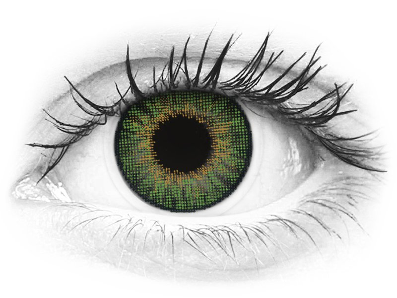 Air Optix Colors - Green - korekcyjne (2 soczewki)