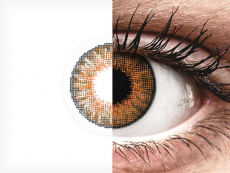 Air Optix Colors - Honey - zerówki (2 soczewki)