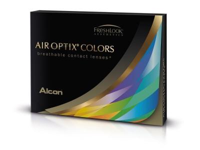 Air Optix Colors - Sterling Gray - korekcyjne (2 soczewki)