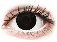alensa.pl - Soczewki kontaktowe - ColourVUE Crazy Lens - BlackOut - zerówki