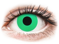 ColourVUE Crazy Lens - Emerald (Green) - zerówki (2 soczewki)
