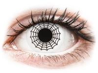 alensa.pl - Soczewki kontaktowe - ColourVUE Crazy Lens - Spider - zerówki