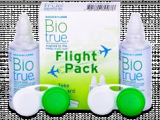 Płyn do soczewek Biotrue Flight Pack 2 x 60 ml