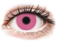 alensa.pl - Soczewki kontaktowe - ColourVUE Crazy Glow Pink - zerówki