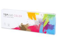 TopVue Color daily - Blue - zerówki (10 soczewek)