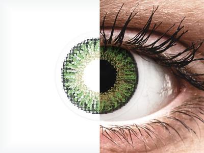 TopVue Color daily - Green - zerówki (10 soczewek)
