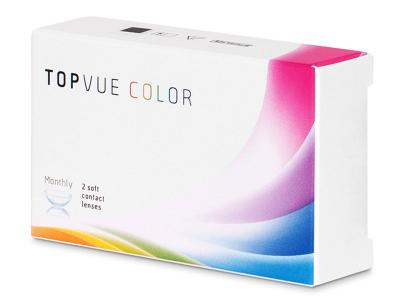 TopVue Color - Grey - zerówki (2 soczewki)