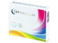 TopVue Color - Turquoise - zerówki (2 soczewki)