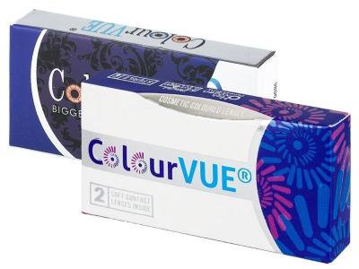 ColourVUE BigEyes Dolly Black - zerówki (2 soczewki)