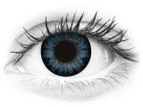 ColourVUE BigEyes Cool Blue - korekcyjne (2 soczewki)