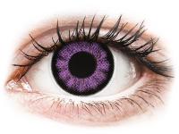 alensa.pl - Soczewki kontaktowe - ColourVUE BigEyes Ultra Violet - zerówki