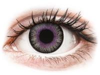alensa.pl - Soczewki kontaktowe - ColourVUE Fusion Violet Gray - zerówki