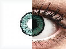 SofLens Natural Colors Jade - korekcyjne (2 soczewki)