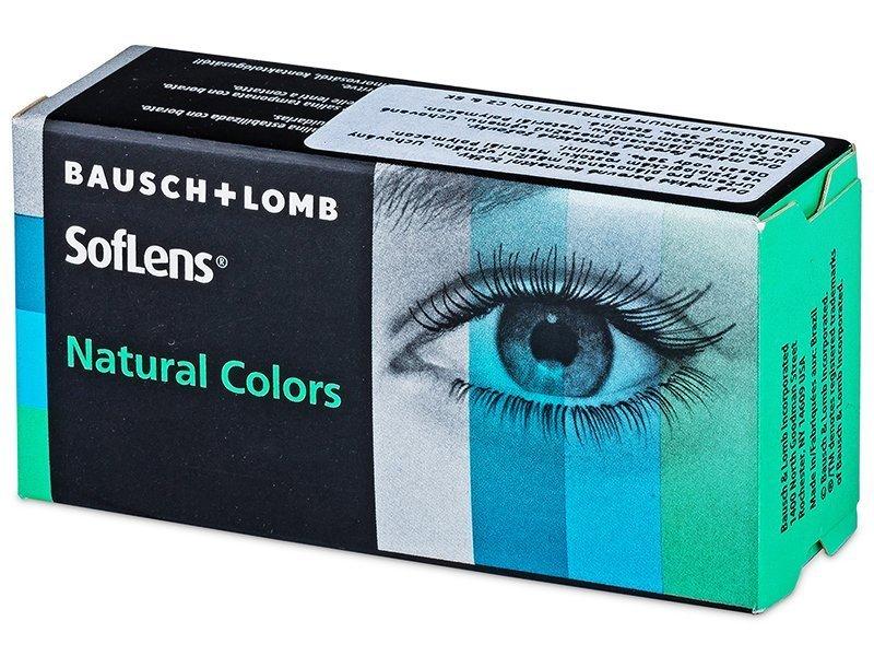 SofLens Natural Colors Pacific - zerówki (2 soczewki)
