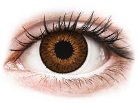 alensa.pl - Soczewki kontaktowe - Expressions Colors Brown - zerówki