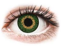 alensa.pl - Soczewki kontaktowe - Expressions Colors Green - zerówki