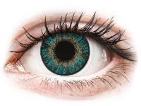 alensa.pl - Soczewki kontaktowe - FreshLook ColorBlends Turquoise - korekcyjne