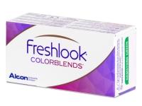 FreshLook ColorBlends Turquoise - zerówki (2 soczewki)