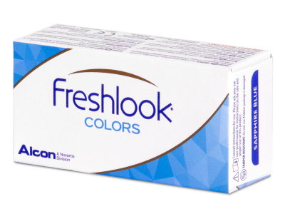 FreshLook Colors Blue - zerówki (2 soczewki)
