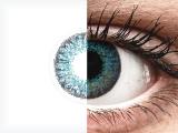 Air Optix Colors - Brilliant Blue - korekcyjne (2 soczewki)