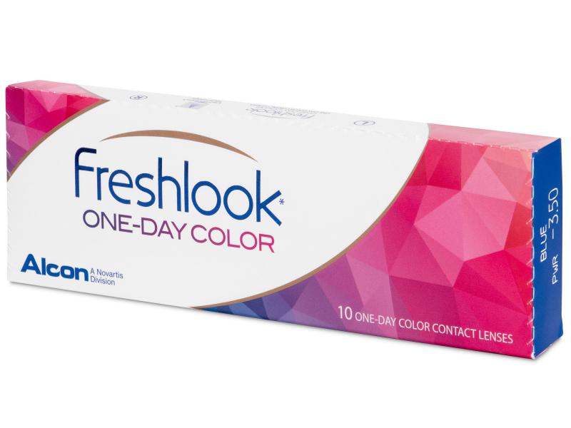 FreshLook One Day Color Blue - zerówki (10 soczewek)