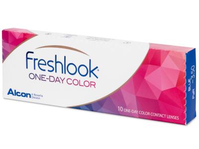 FreshLook One Day Color Grey - zerówki (10 soczewek)
