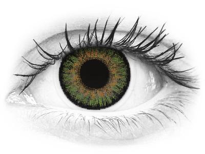 FreshLook One Day Color Green - korekcyjne (10 soczewek)