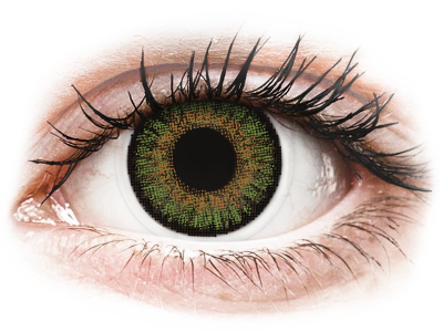 FreshLook One Day Color Green - zerówki (10 soczewek)