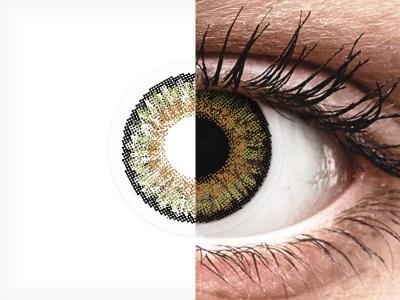 FreshLook One Day Color Pure Hazel - korekcyjne (10 soczewek)