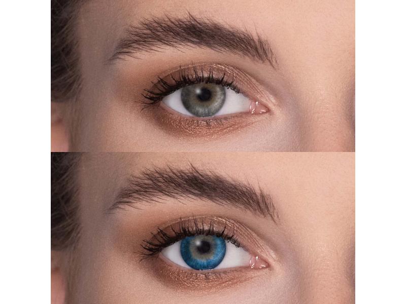 FreshLook Dimensions Pacific Blue - zerówki (2 soczewki)