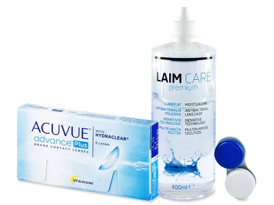 Acuvue Advance PLUS (6 soczewek) + płyn Laim-Care 400ml
