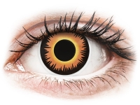 alensa.pl - Soczewki kontaktowe - ColourVUE Crazy Lens - Orange Werewolf - jednodniowe zerówki