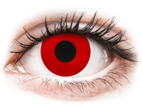 alensa.pl - Soczewki kontaktowe - ColourVUE Crazy Lens - Red Devil - jednodniowe zerówki