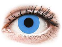 alensa.pl - Soczewki kontaktowe - ColourVUE Crazy Lens - Sky Blue - jednodniowe zerówki