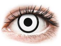 alensa.pl - Soczewki kontaktowe - ColourVUE Crazy Lens - White Zombie - jednodniowe zerówki