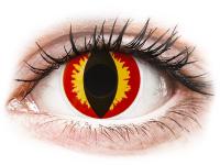 alensa.pl - Soczewki kontaktowe - ColourVUE Crazy Lens - Dragon Eyes - jednodniowe zerówki