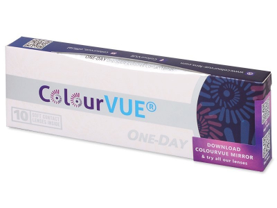 ColourVue One Day TruBlends Blue - korekcyjne (10 soczewek)