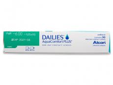 Dailies AquaComfort Plus Toric (90 soczewek)