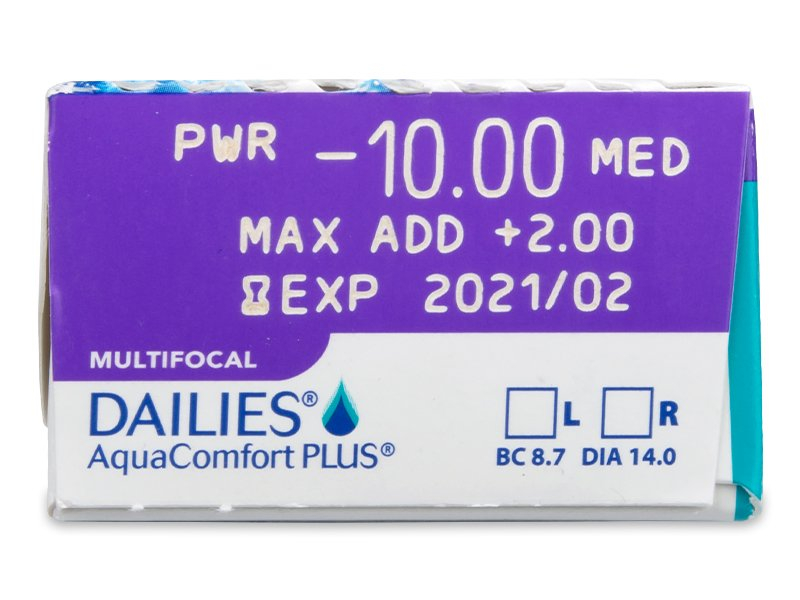 Dailies AquaComfort Plus Multifocal (30 soczewek)